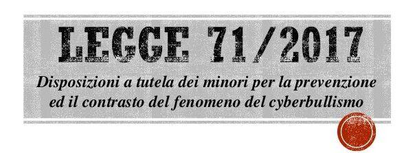 Legge 71/2017